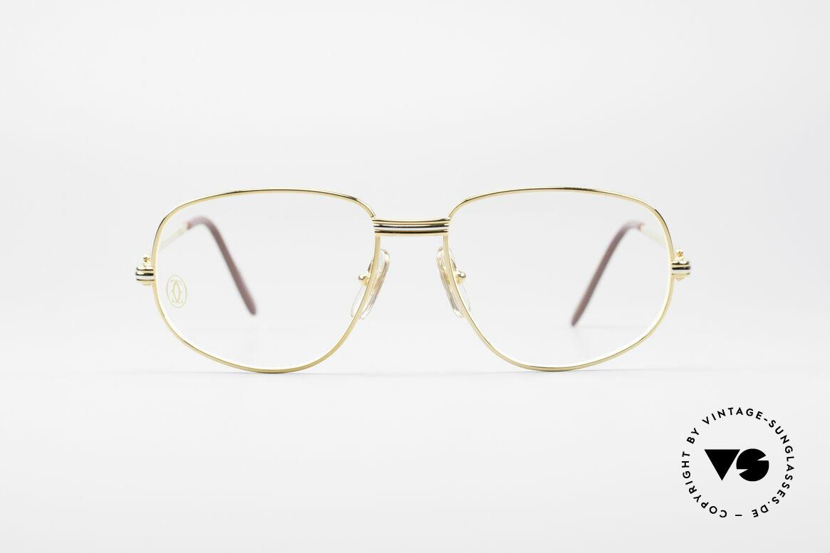 Cartier Romance LC - S Luxus Designer Brille, vintage Cartier Luxus-Brillenfassung; Modell ROMANCE, Passend für Herren und Damen