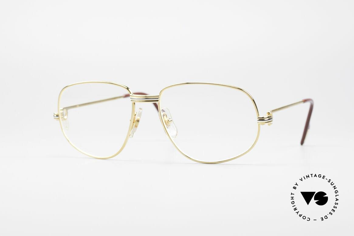 Cartier Romance LC - S Luxus Designer Brille, wurde 1986 veröffentlicht und dann bis 1997 produziert, Passend für Herren und Damen