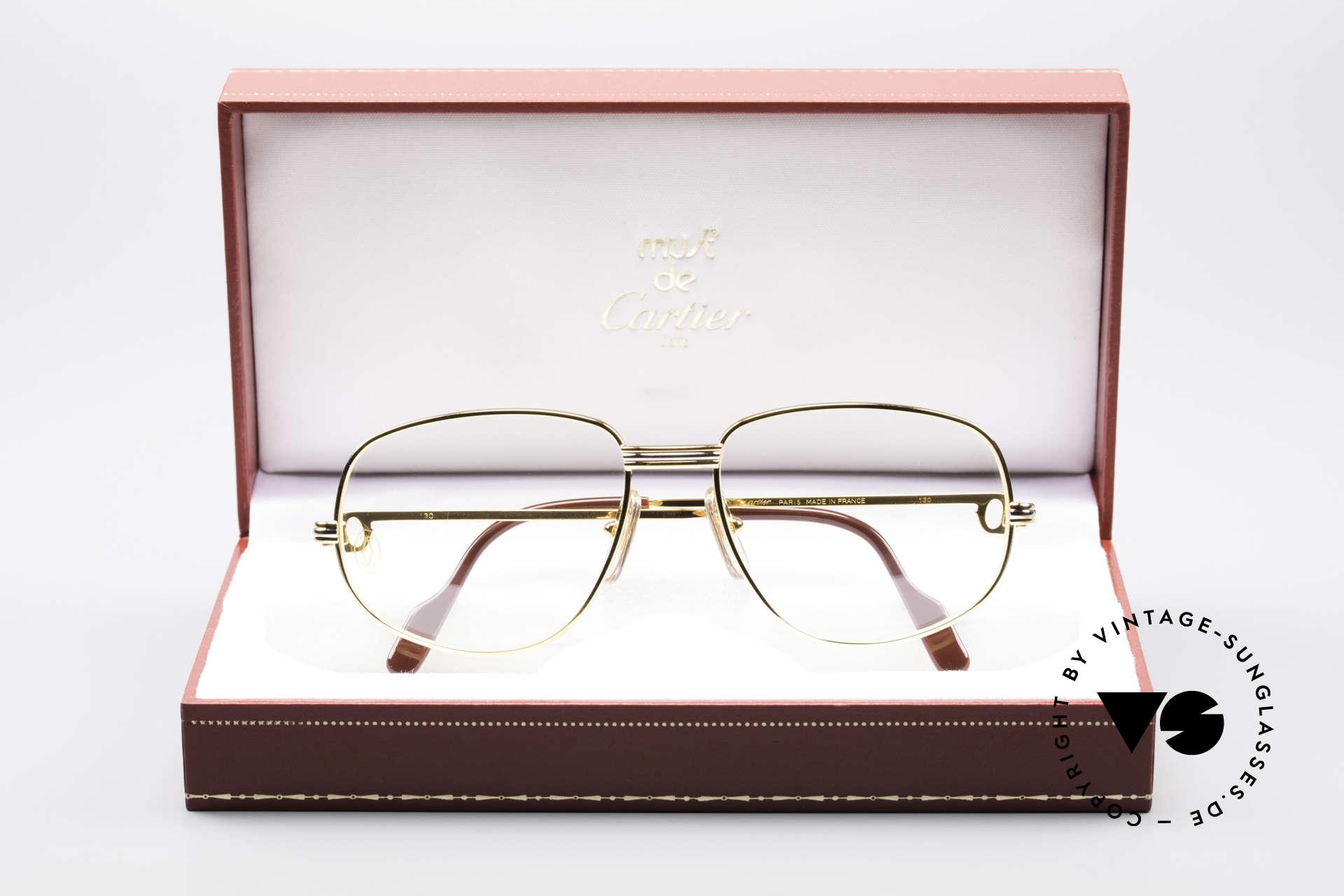 Cartier Romance LC - S Luxus Designer Brille, ungetragen mit OVP (selten in diesem Zustand zu finden), Passend für Herren und Damen
