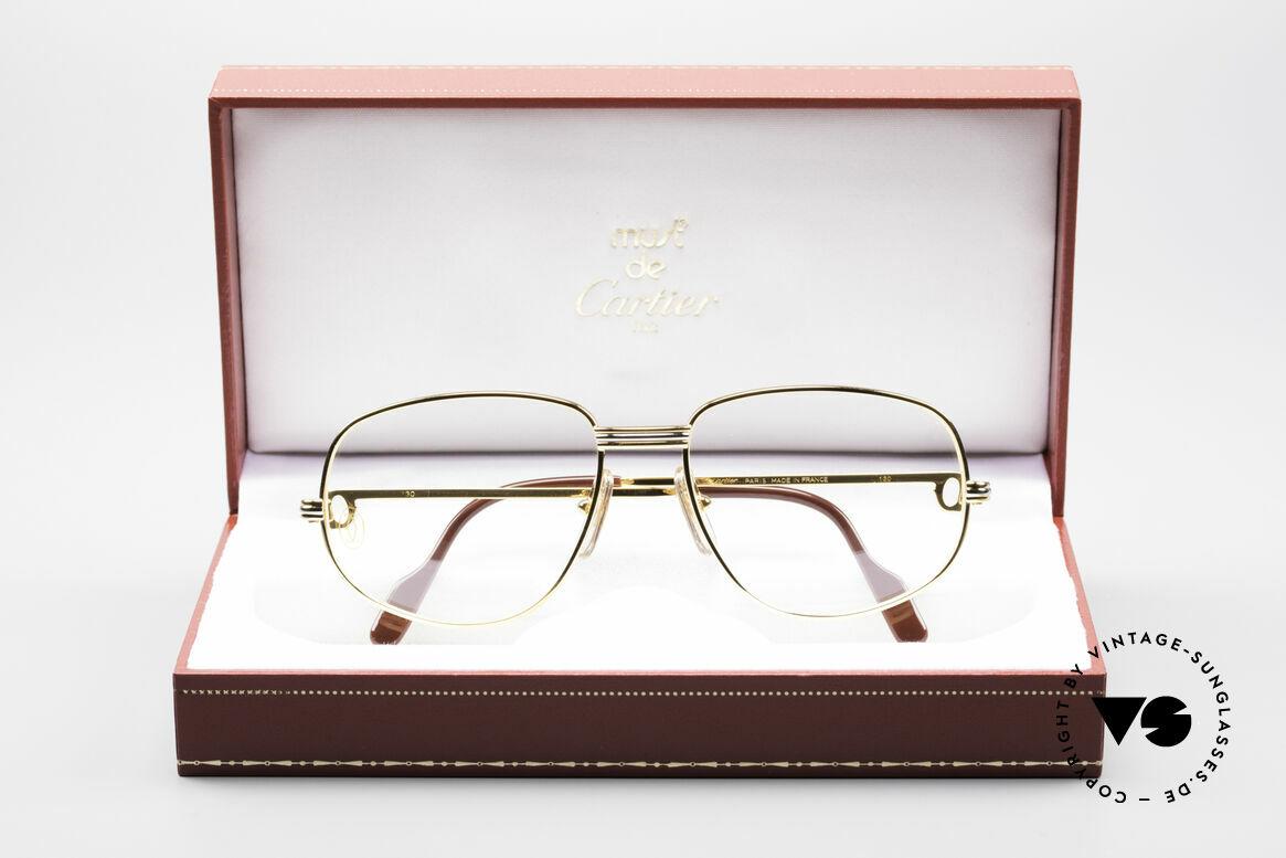 Cartier Romance LC - S Luxus Designer Brille, ungetragen mit BOX (selten in diesem Zustand zu finden), Passend für Herren und Damen