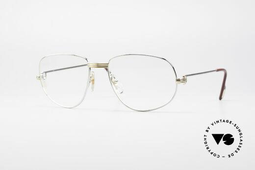 Cartier Romance LC - L Platin Edition Brille Details