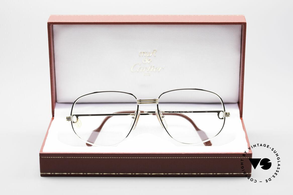 Cartier Romance LC - M Platin Edition Fassung