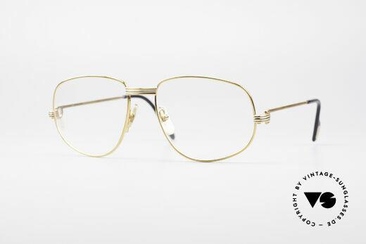 Cartier Romance Rose LC - L Limitierte Luxus Brille Details