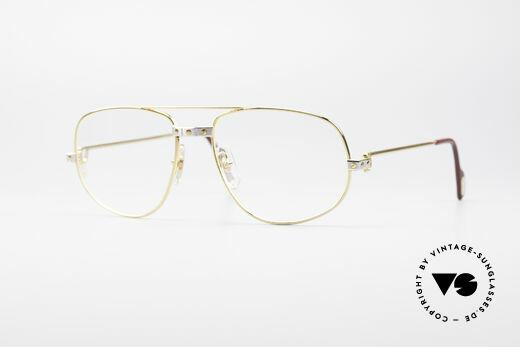 Cartier Romance Santos - L Luxus Brille Details