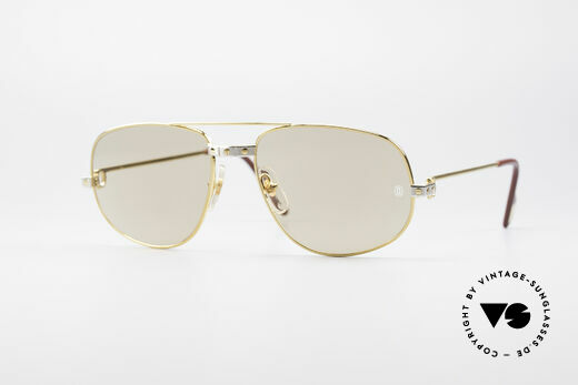 Cartier Romance Santos - L Luxus Sonnenbrille Details