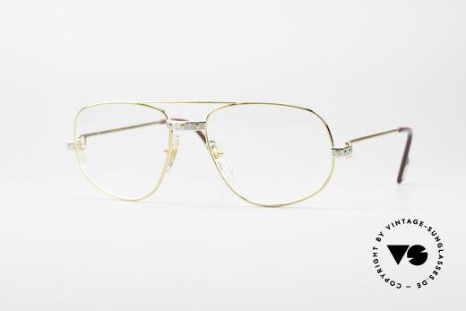 Cartier Romance Santos - M Vintage Luxus Fassung Details