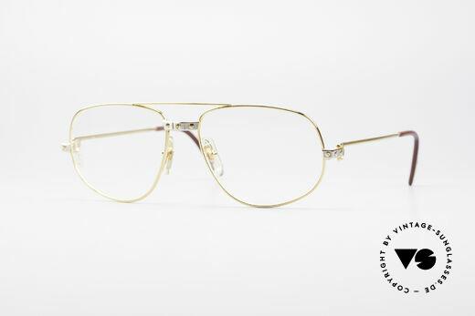 Cartier Romance Santos - M Luxus Rahmen Details