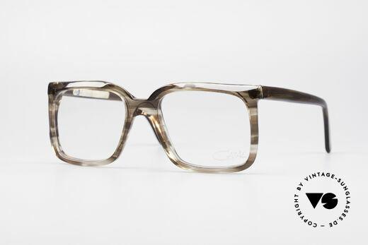 Cazal 604 70er Brille Erste Serie Details
