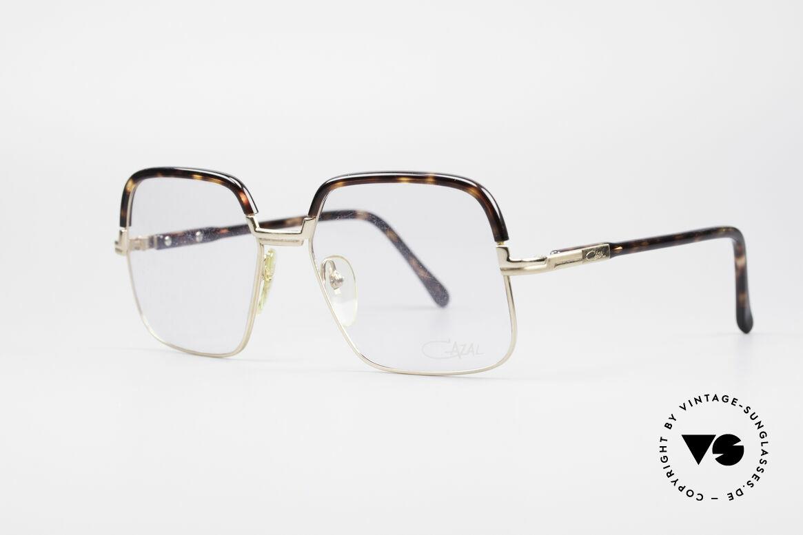 Cazal 704 70er Kombibrille Erste Serie, mit dem uralten 'Frame Germany' Aufdruck; Gr. 56/18, Passend für Herren