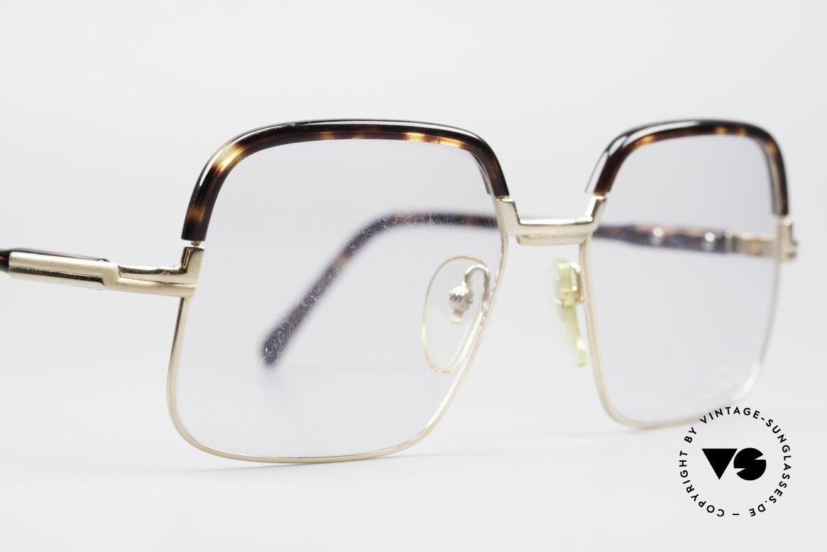 Cazal 704 70er Kombibrille Erste Serie, Kombi-Brille (Metallfassung mit Kunststoff-Oberrand), Passend für Herren