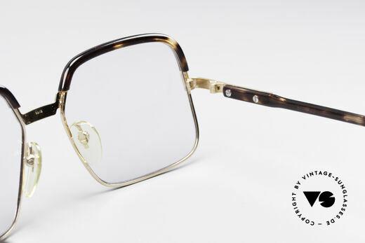 Cazal 704 70er Kombibrille Erste Serie, ungetragenes Original (NEW OLD STOCK) Sammlerstück, Passend für Herren
