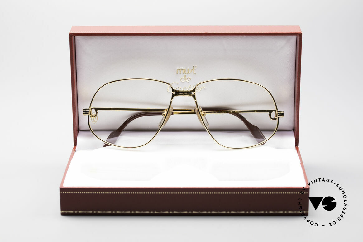 Cartier Panthere G.M. - XL 80er Luxus Brille