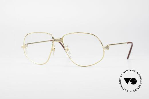 Cartier Panthere G.M. - L 80er Luxus Vintage Brille Details