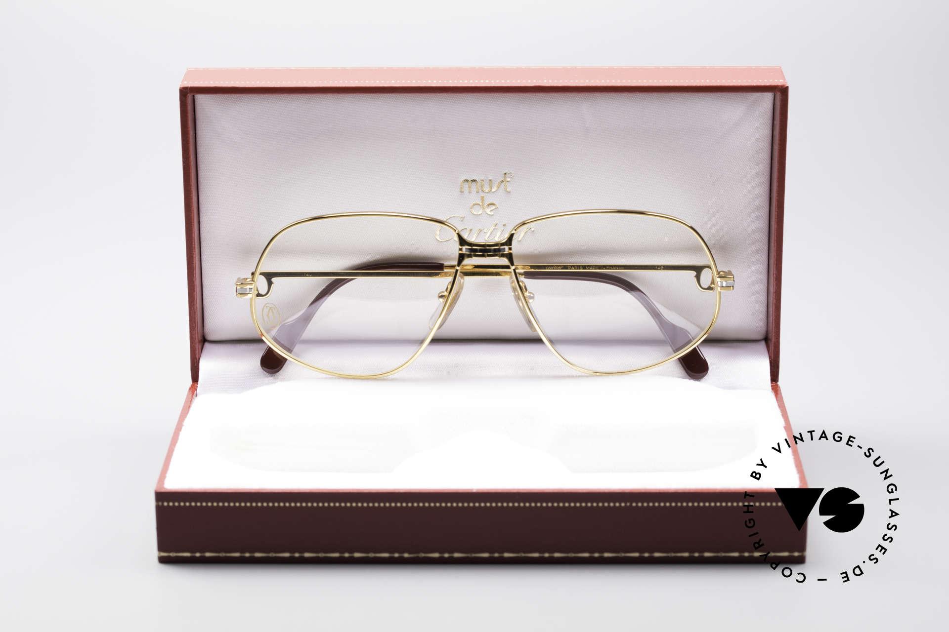 Cartier Panthere G.M. - L 80er Luxus Fassung, ungetragen mit OVP (selten in diesem Zustand zu finden), Passend für Herren