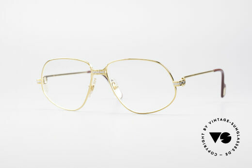 Cartier Panthere G.M. - M 80er Luxus Brille Details