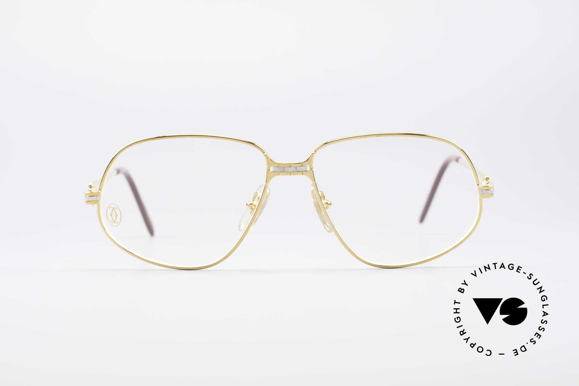 """Cartier Panthere G.M. - M Luxus Vintage Brille 1980er, G.M. = """"Grande Modèle"""" (für Monsieur / den Gentleman), Passend für Herren"""