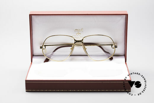 Cartier Panthere G.M. - M Luxus Vintage Brille 1980er, ungetragenes 30 Jahre altes vintage Original, KEIN Retro!, Passend für Herren