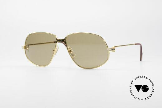 Cartier Panthere G.M. - L Rare Luxus Sonnenbrille Details