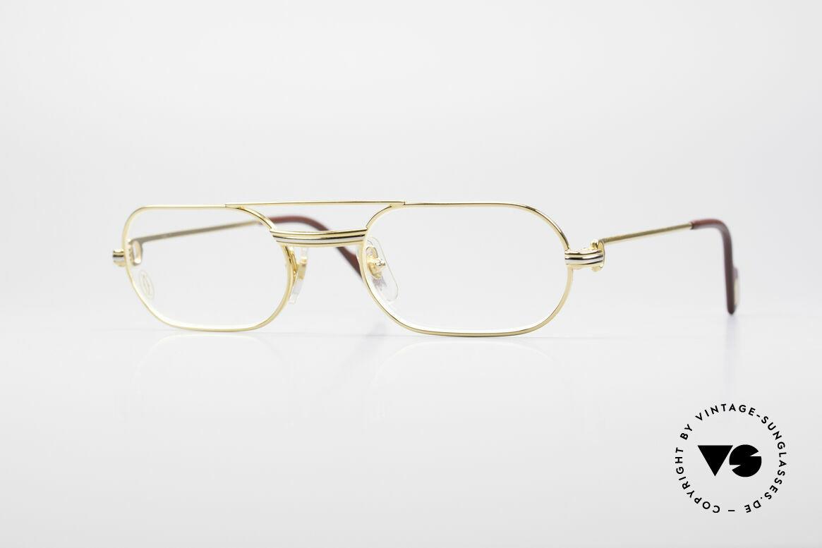 Cartier MUST LC - S Elton John Luxus Fassung, MUST: das erste Modell der Lunettes Collection '83, Passend für Herren