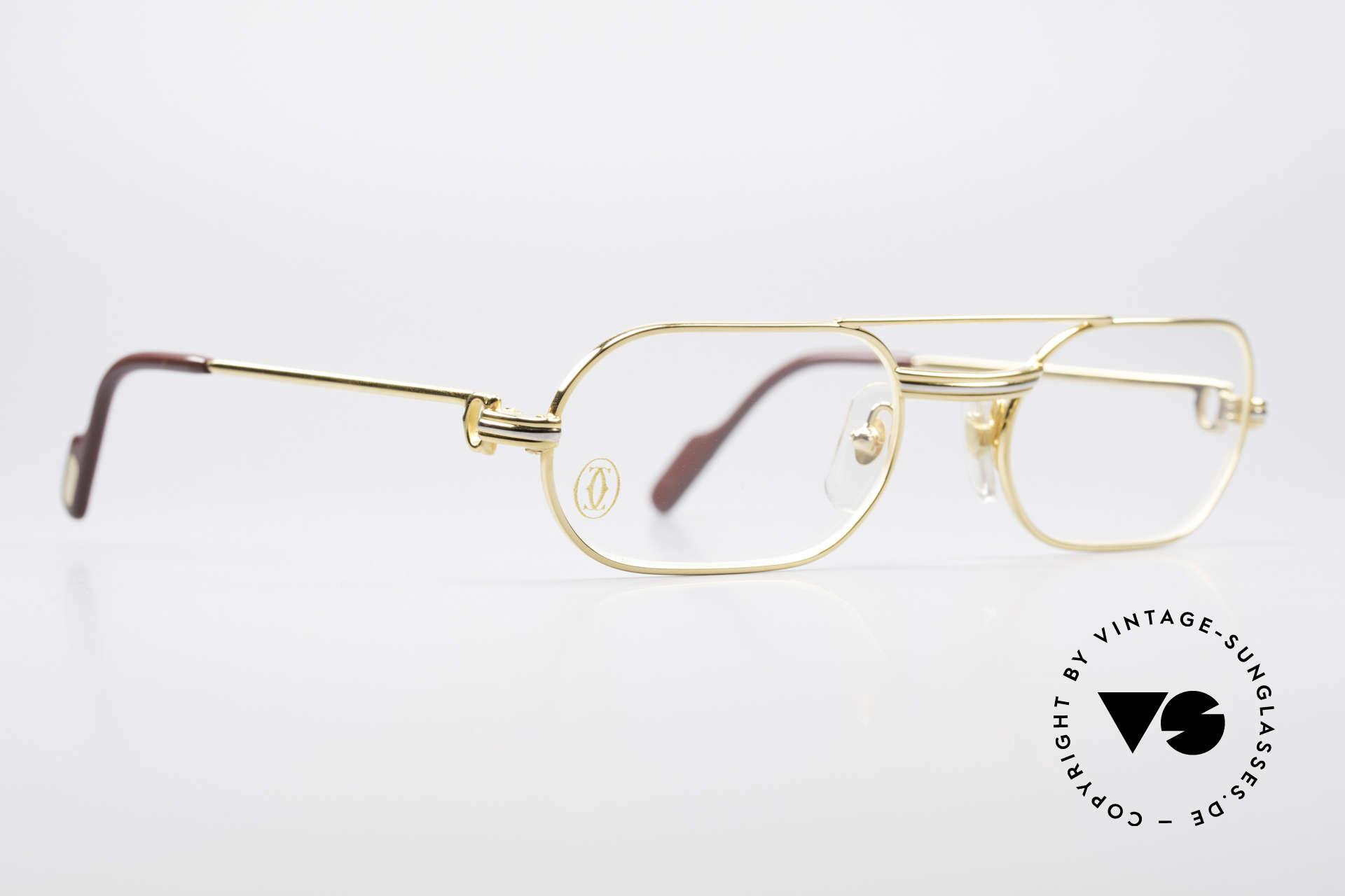 """Cartier MUST LC - S Elton John Luxus Fassung, getragen von Elton John (Video """"I'm still standing""""), Passend für Herren"""