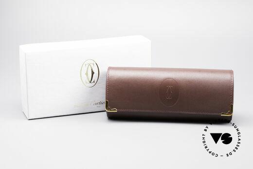 Cartier_ Leather Case True vintage Cartier Details