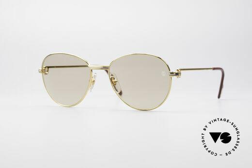 Cartier S Saphirs 0,94 ct Edelstein Sonnenbrille Details