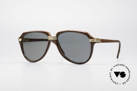 Cartier Vitesse - L Luxus Pilotensonnenbrille Details
