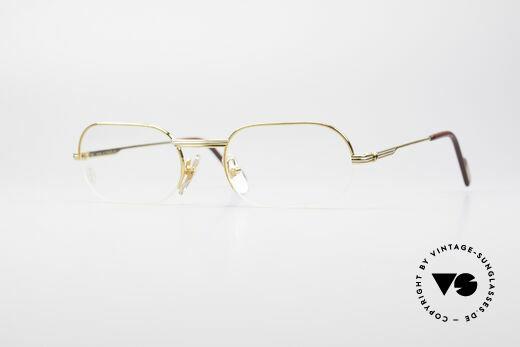 Cartier Ascot Rahmenlose Luxus Fassung Details