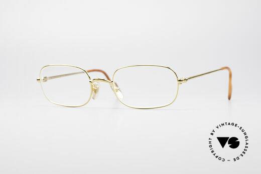 Cartier Deimios 90er Luxus Brillenfassung Details