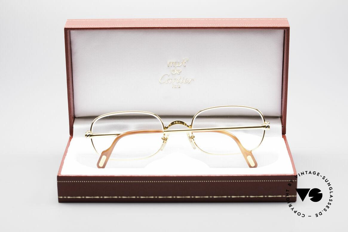 Cartier Deimios 90er Luxus Brillenfassung