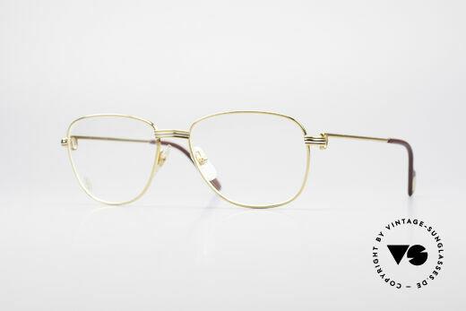 Cartier Courcelles 90er Luxus Vintagebrille Details