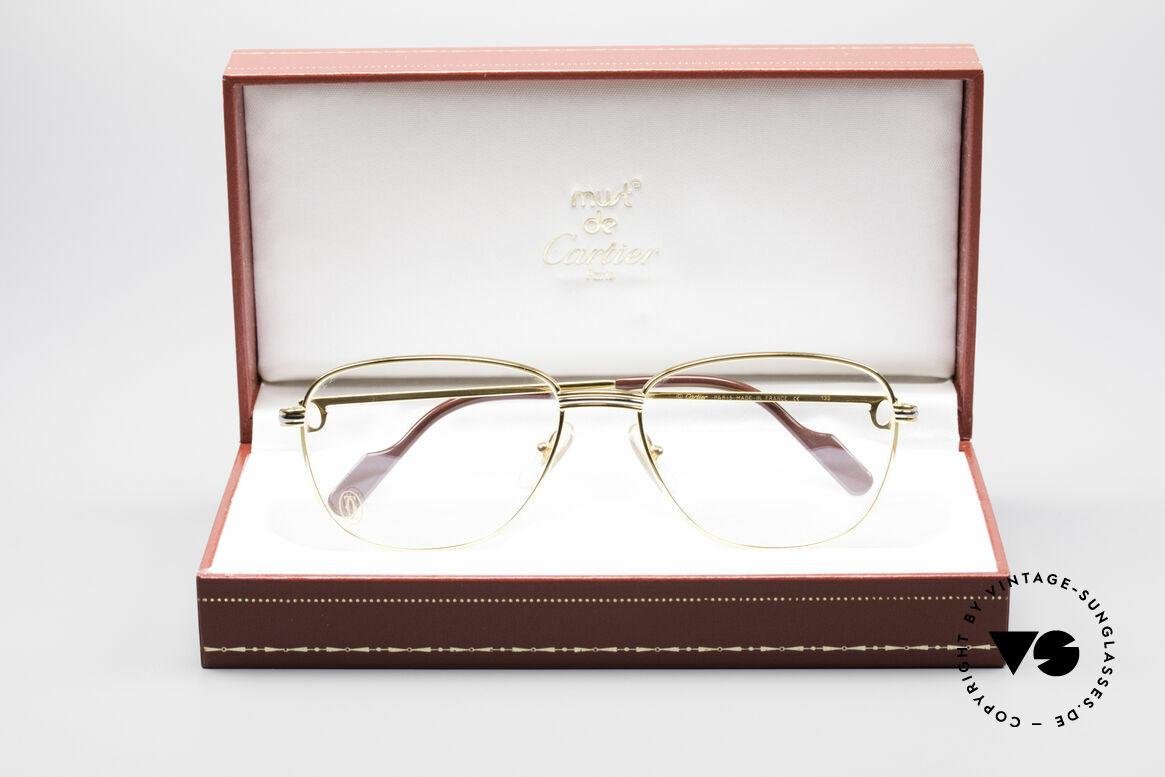 Cartier Courcelles 90er Luxus Vintagebrille