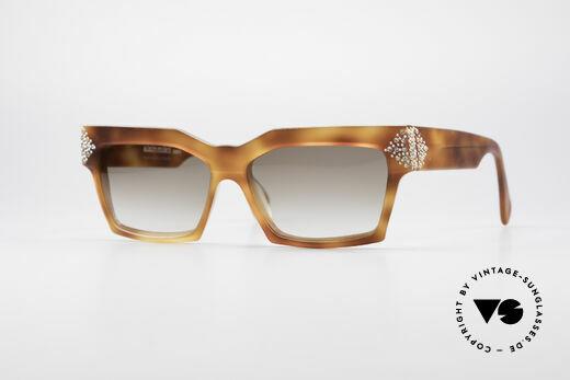 Humorvoll Vintagegestell Brillenfassung Damen Brille Butterfly Dunkel Marmoriert Grösse L Sonnenbrillen & Zubehör Sonnenbrillen