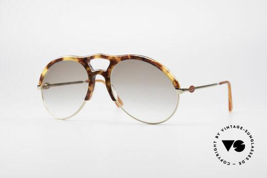 2820b019e33 Bugatti 64900 Schildpatt Optik 80er Brille Details