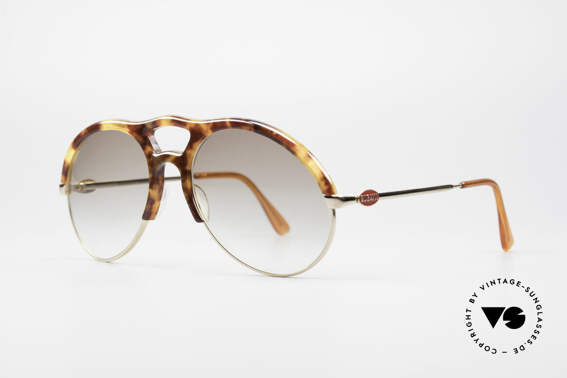 Bugatti 64900 Schildpatt Optik 80er Brille