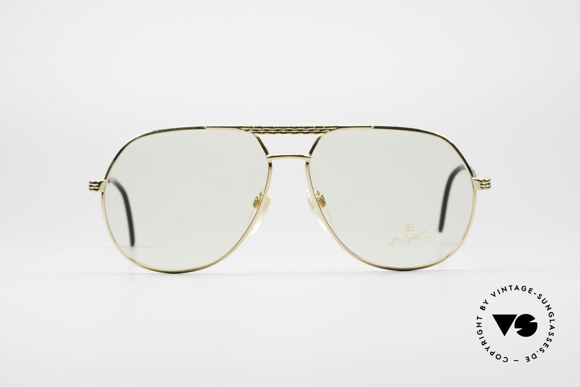 Bugatti EB502 - XL Zeiss Automatik Gläser, vintage Bugatti Sonnenbrille in unglaublicher Qualität, Passend für Herren