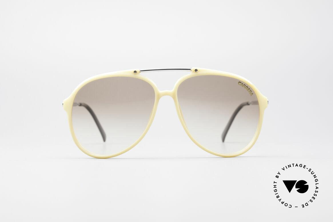 Carrera 5594 80er Brille Wechselgläser, einfach geniale 80er vintage Sonnenbrille von Carrera, Passend für Herren und Damen