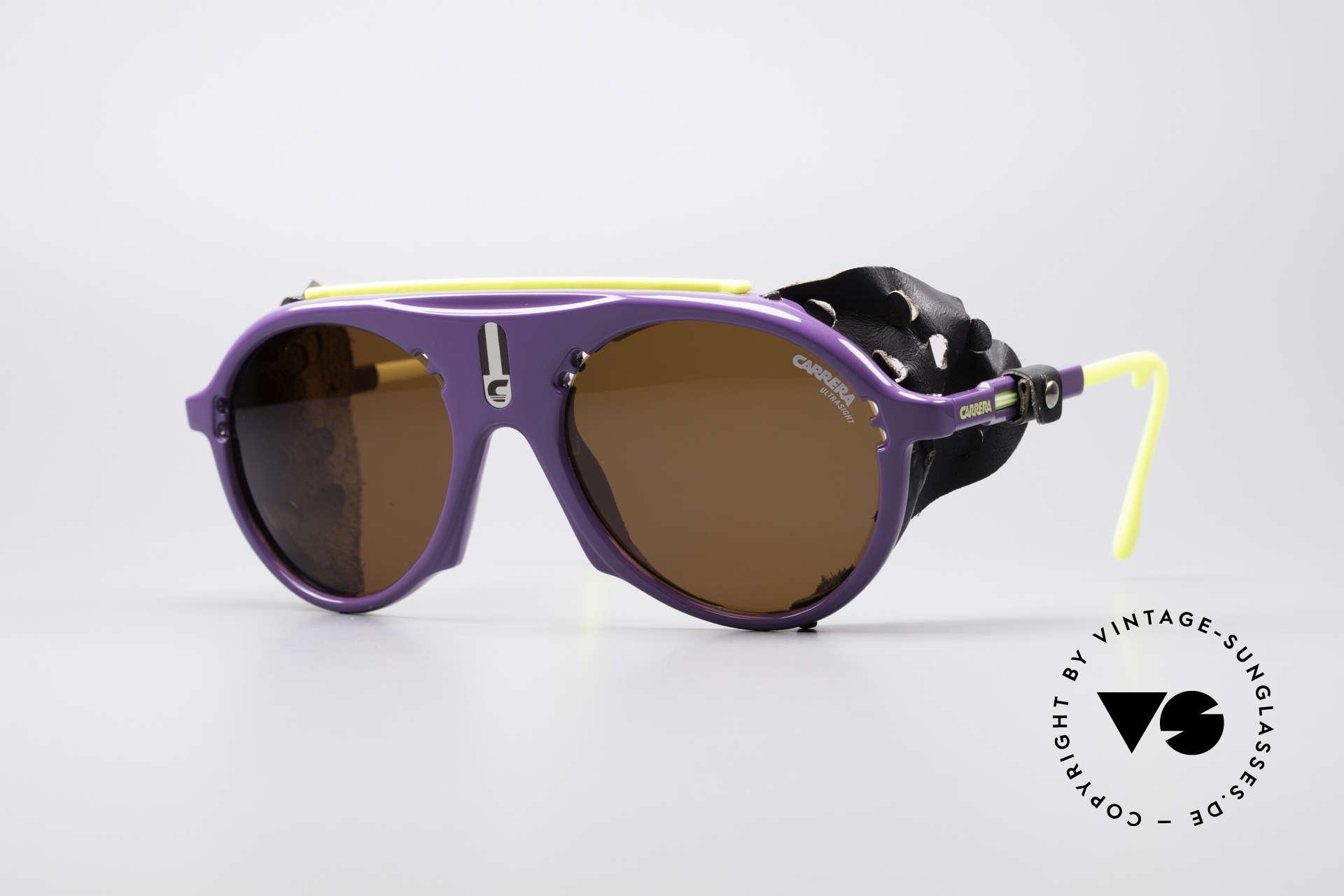 Carrera 5436 Water & Ice SkiBrille, vintage Sportbrille bzw. Gletscherbrille von CARRERA, Passend für Herren und Damen