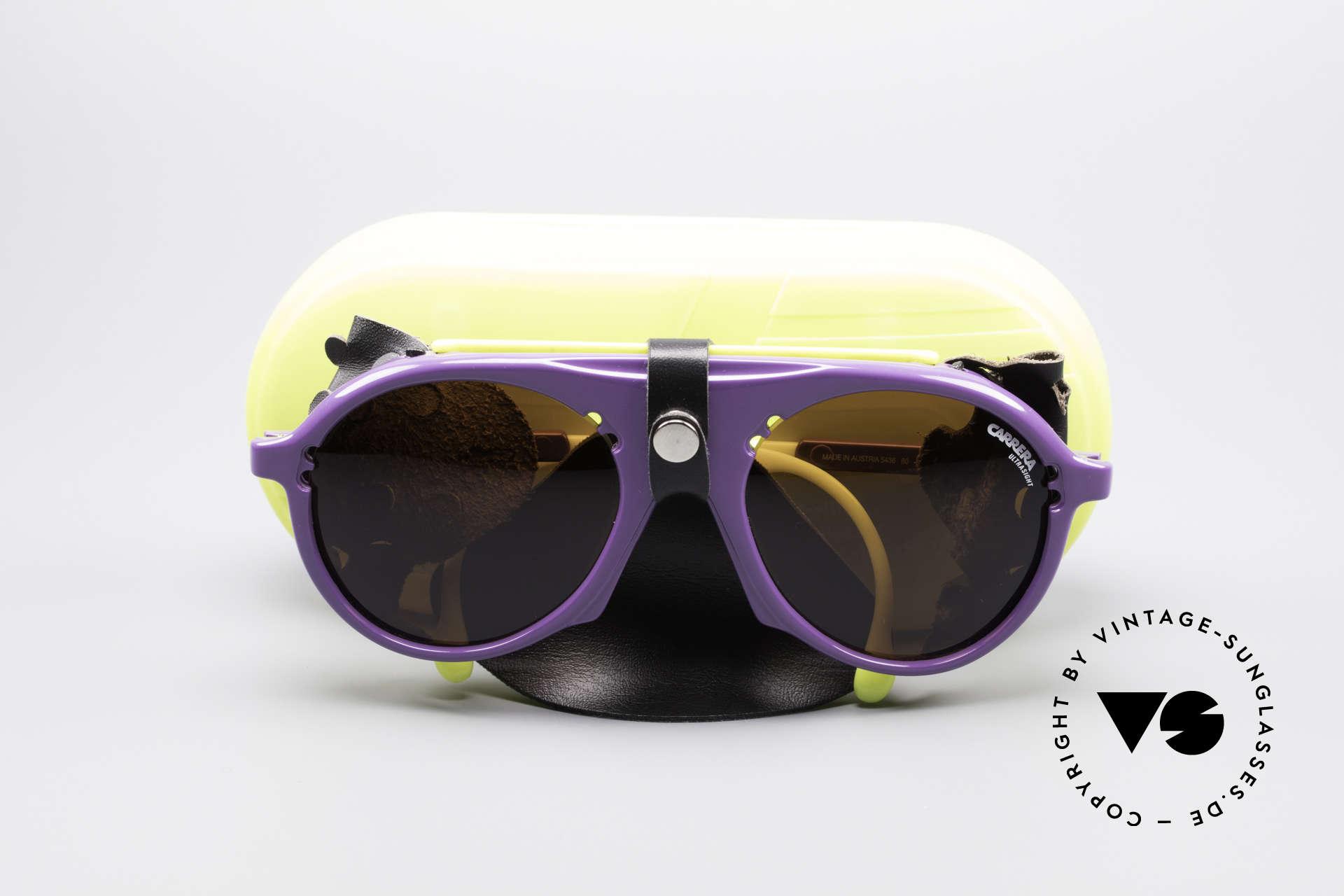 Carrera 5436 Water & Ice SkiBrille, KEINE Retrosonnenbrille; sondern ein 1980er Original!, Passend für Herren und Damen