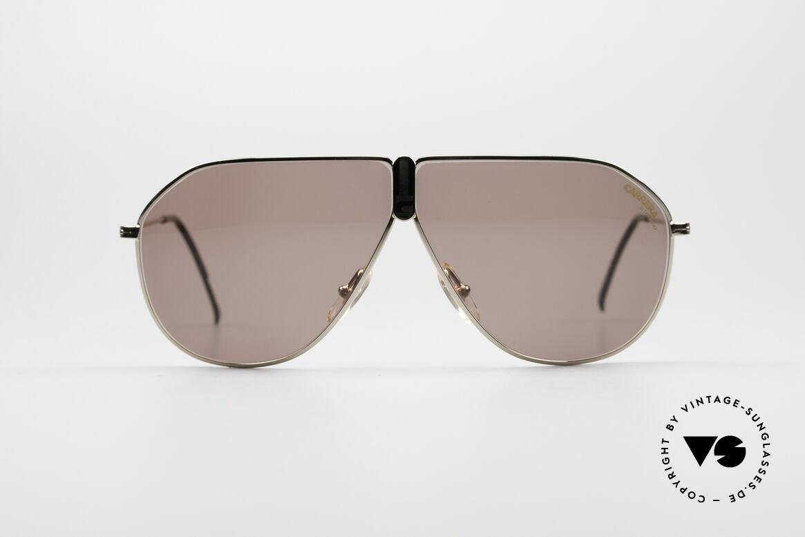 Carrera 5437 90er Designer Sonnenbrille, sehr edle Carrera Designersonnenbrile aus den 90ern, Passend für Herren