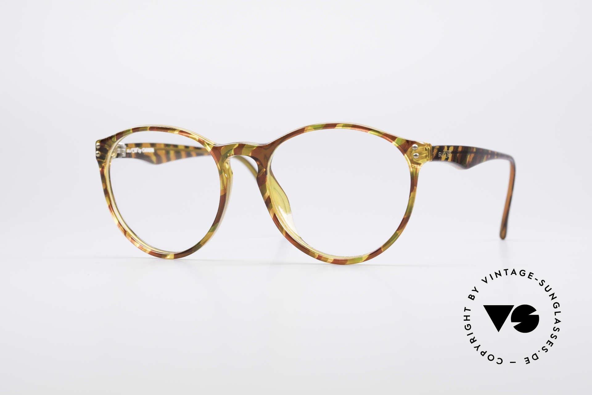 Carrera 5282 90er Panto Brillenfassung, zeitlose Carrera SUNJET Panto-Design Brillenfassung, Passend für Herren und Damen