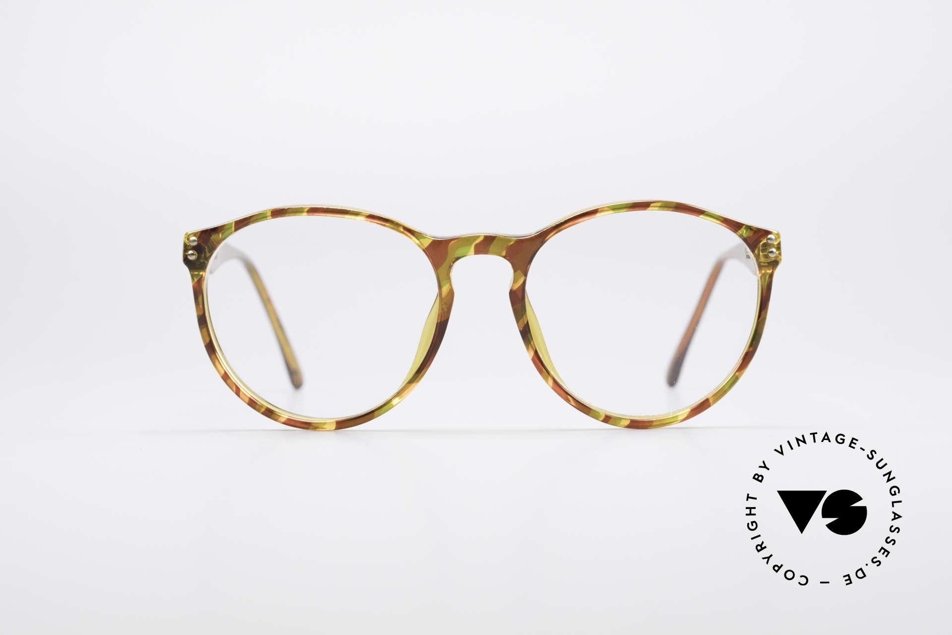 Carrera 5282 90er Panto Brillenfassung, absoluter Klassiker mit interessantem Rahmenmuster, Passend für Herren und Damen