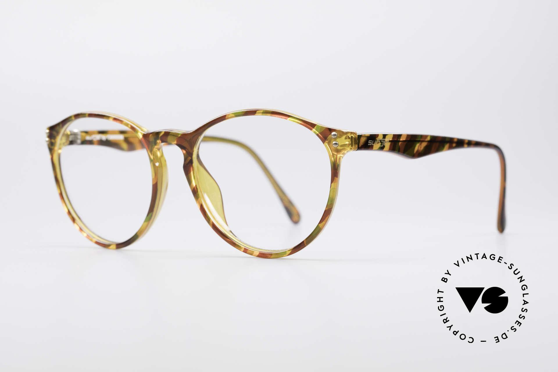 Carrera 5282 90er Panto Brillenfassung, im Stile der alten 'Tart Optical Arnel' aus den 1960ern, Passend für Herren und Damen