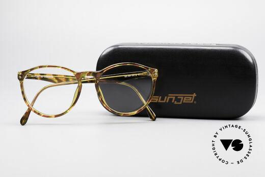 Carrera 5282 90er Panto Brillenfassung, ungetragen (wie all unsere 90er Jahre Design-Klassiker), Passend für Herren und Damen