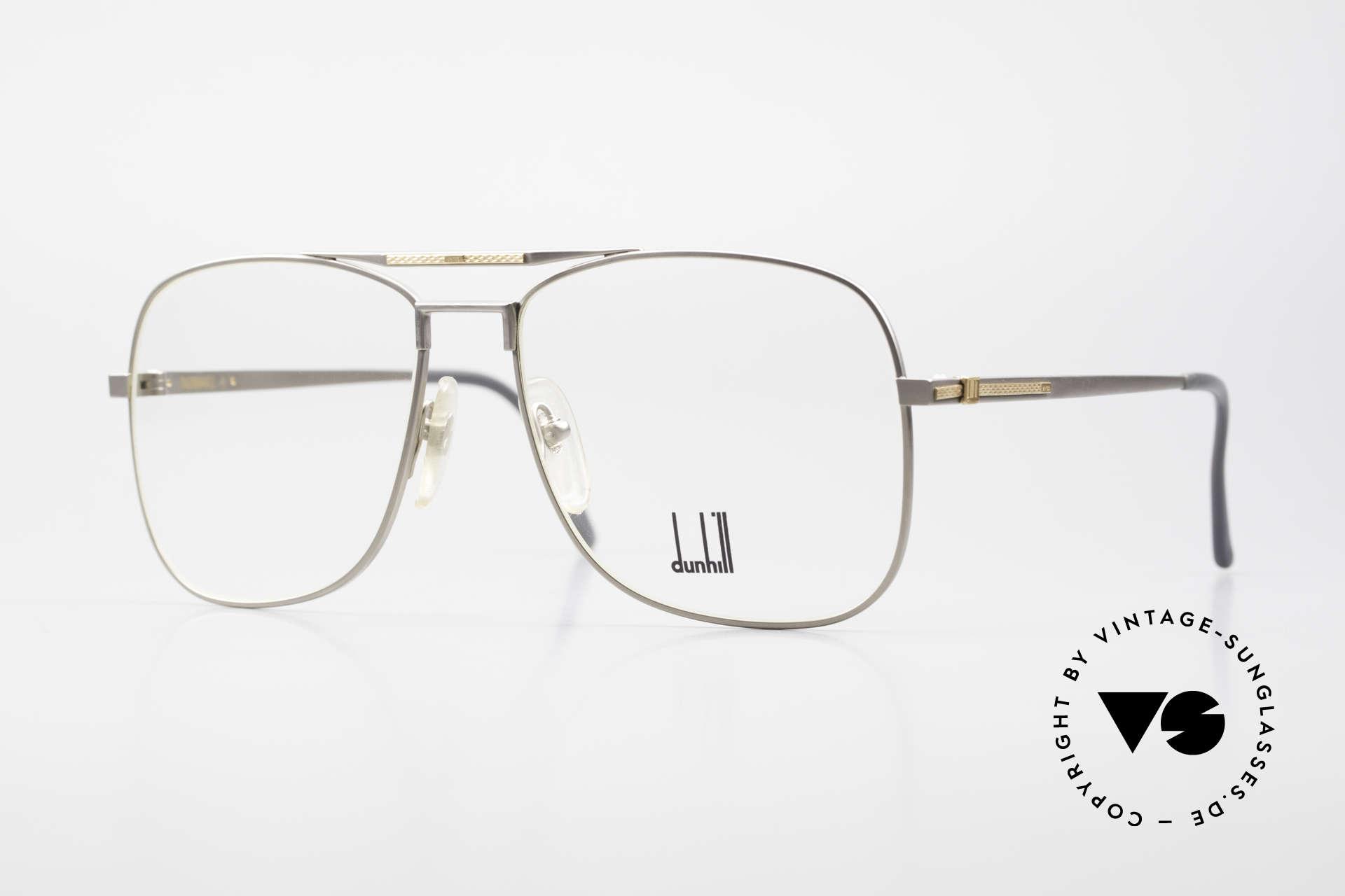 Dunhill 6038 18kt Gold Titanium Brille 80er, edler & hochwertiger geht's nicht - muss man fühlen!, Passend für Herren