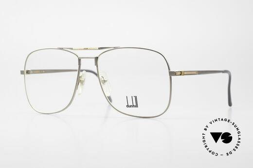 Dunhill 6038 18kt Gold Titanium Brille 80er Details