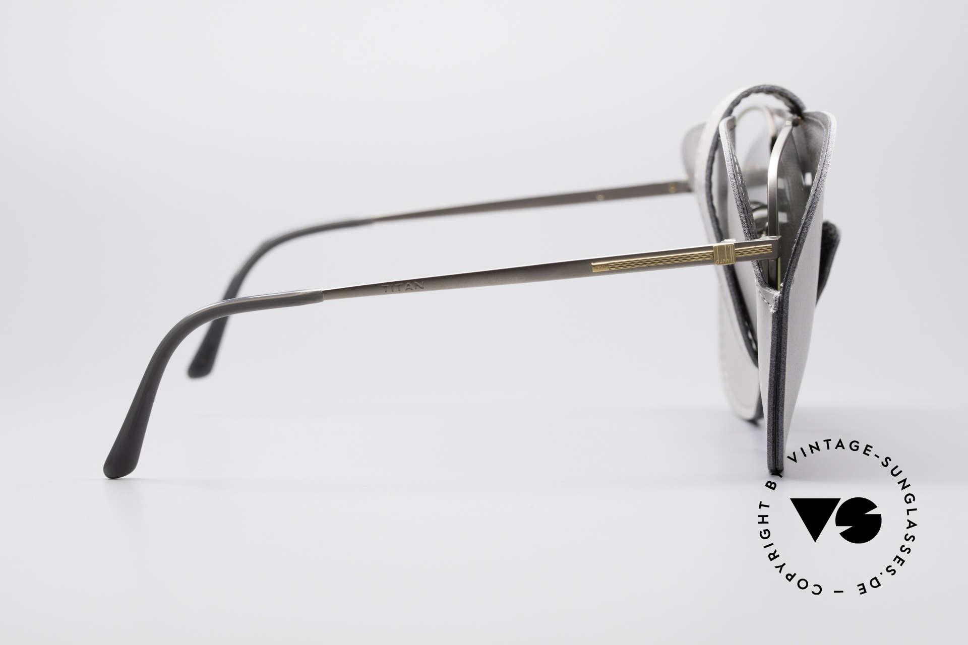Dunhill 6038 18kt Gold Titanium Brille 80er, Größe: large, Passend für Herren
