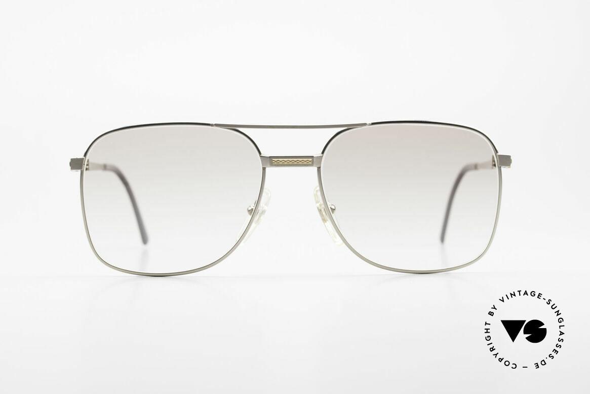 Dunhill 6066 18kt Gold Titanium Fassung, A. DUNHILL Titan-Brillenfassung mit 18kt Gold-Dekor, Passend für Herren
