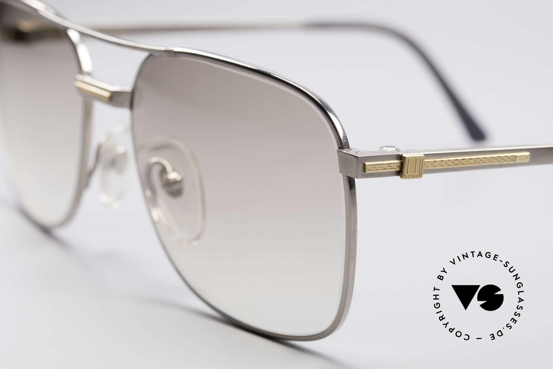 Dunhill 6066 18kt Gold Titanium Fassung, (heute werden Designerbrillen für <5,00 € produziert), Passend für Herren