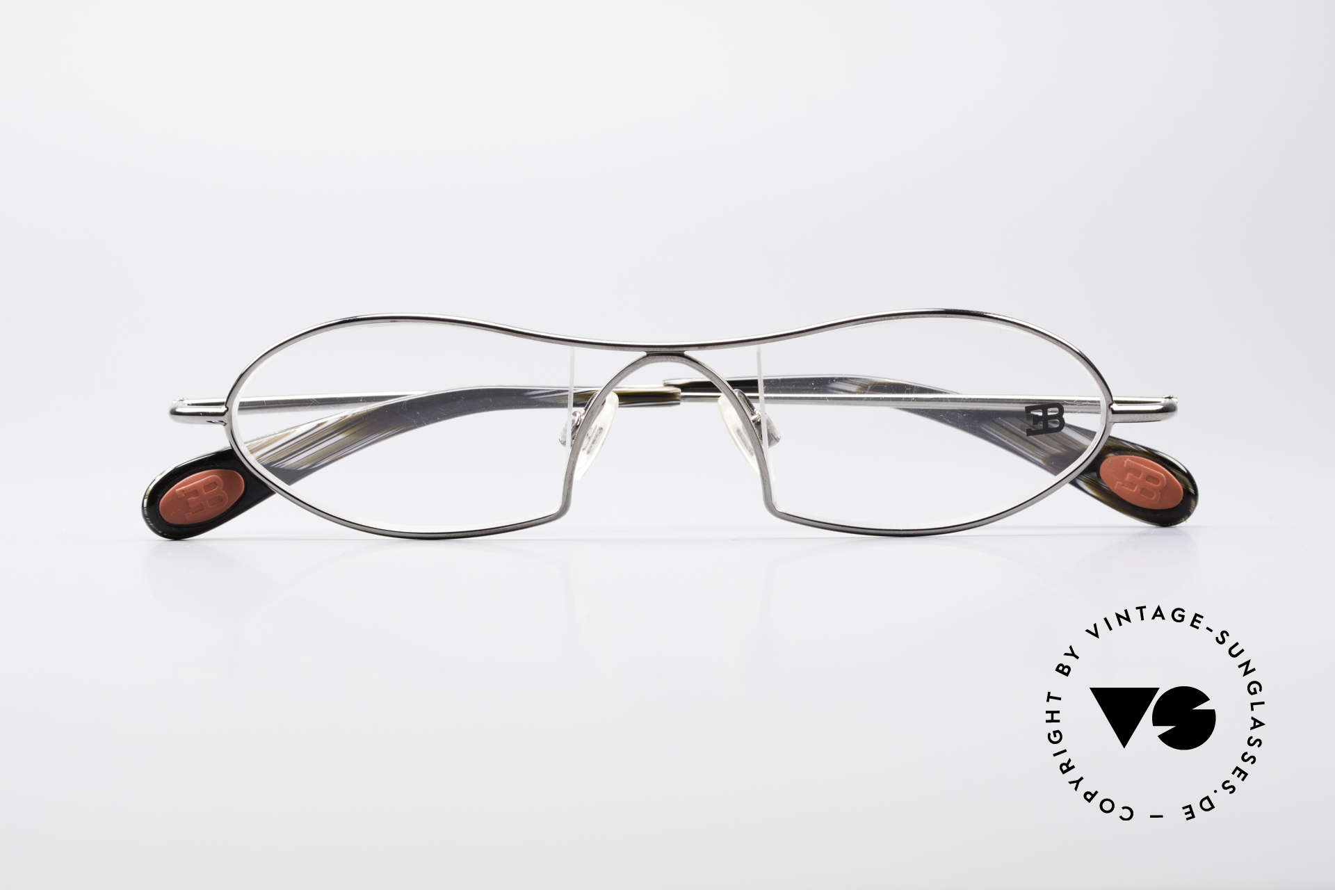 Bugatti 351 Odotype Rare Herren Designer Brille, sehr spezielle Glaseinfassung & Top Komfort, Passend für Herren